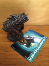 SKYLANDERS GIANTS loose DRAGONFIRE CANNON figure ACTIVISION xbox wii PS3 w CARD