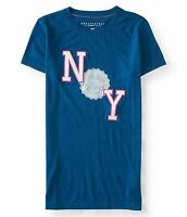 Aeropostale women Tee Shirts embroidered and graphic AERO NEW YORK