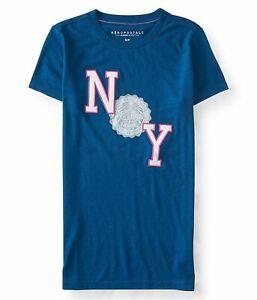Aeropostale women Tee Shirts embroidered and graphic AERO NEW YORK