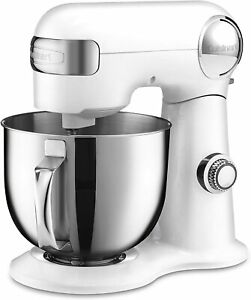 Cuisinart Precision Master 5.5-Quart 12-Speed Stand Mixer - White