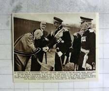 1956 Pearl Of Enniskillen T.H.Algeo Welcomes King Of The Belgians Enniskillen