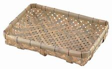 Bamboo Japanese Basket weaving: Mini Yotsume tarashi  style: Recutanglar Display