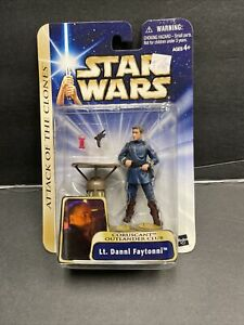 Star Wars Action Figures Seperatist Cat Miin & Outlander Club Lt Dannl Faytonni
