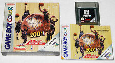 NBA JAM 2001 sur Nintendo GAME BOY COLOR