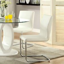 Bethany Contemporary Counter Height Chair, White