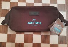 Brown TED BAKER  Mens The Right Tools TRAVEL TOILETRY SPORTS WASH BAG Circa 2011