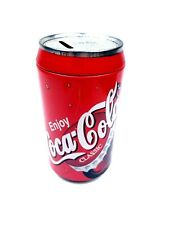 Coca Cola Tin Can Large Coin Bank