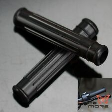 Black Silicone Motorcycle Lever Sleeve - Brake / Clutch Lever Grip Motocross BID