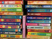 Lot of 5 Janet Evanovich PaperbacK Books Random Mix Popular  Mixed Bundle