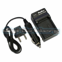 Camera Battery Charger SONY NP-BN1 N Type DSC-T110 T99 WX150 Wall + Car + USB