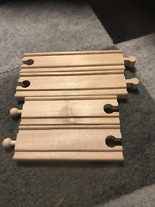 Wooden Brio Type Train Track