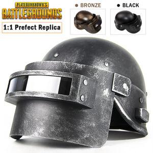 PUBG Cosplay Mask, Playerunknown's Battlegrounds Lvl.3 Helmet Wearable Props Cap