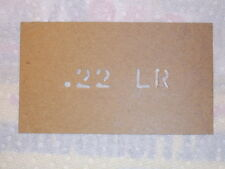 .22 LR Custom Oil Board Military Ammo Can Stencil / Storage etc.