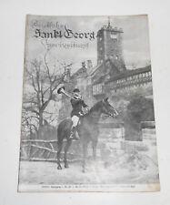 Deutsche Sankt Georg Sportzeitung Nr. 21 / 1935 Pferde Pferdesport Pferdezucht !