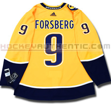 FILIP FORBSERG NASHVILLE PREDATORS HOME AUTHENTIC PRO ADIDAS NHL JERSEY