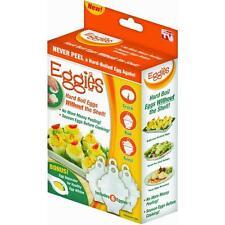 Eggies Hard Boil Egg Cooker system as Seen On TV New In Box!