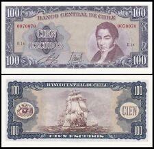 Chile 100 ESCUDOS ND 1962-75 P 141 UNC