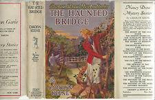 NANCY DREW #15 THE HAUNTED BRIDGE w/DJ 1942A-12 GLOSSY FRONTIS