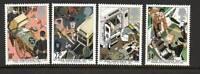 GB 1987 St john Ambulance Brigade MNH mint set stamps