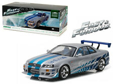 "1999 NISSAN SKYLINE GT-R (R34) ""FAST & FURIOUS"" MOVIE 1:18 BY GREENLIGHT 19029"
