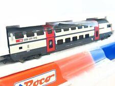 Roco H0 45464.1 Doppelstock Steuerwagen Bt 2. Klasse SBB CFF FFS OVP (KV8081)