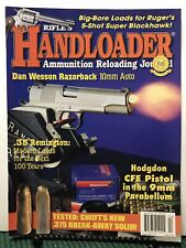 Rifles Handloader Dan Wesson Razorback 10mm Auto April 2016 FREE SHIPPING JB