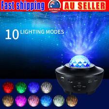 3 in 1 Galaxy Projector Lamp LED Sky Star Moon Bedroom Night Light Music Nebula