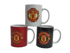 Manchester United F.C  Official Licensed 3 Pack 11oz Mugs