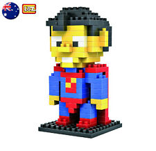 LOZ BLOCK SUPERMAN Micro Mini Building Lego Nano Block Nanoblock