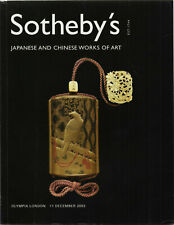 SOTHEBY'S / JAPANESE AND CHINESE WORKS OF ART  / LONDON 11 DECEMBER , 2003