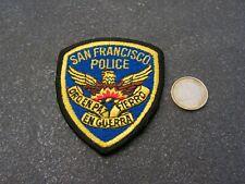 PATCH POLICE ECUSSON COLLECTION  USA   san francisco