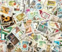 Worldwide Collection 1,000 Different Large Pictorial & Topical Stamps