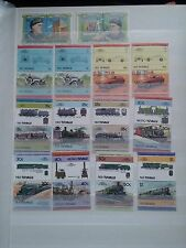 J622. TUVALU. 2 PAGES TIMBRES NEUFS