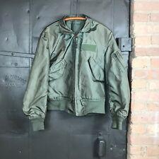 Vintage US Military CWU 45/P Nomex Flyers Jacket Sz Medium?