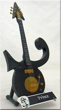 PRINCE Miniature Guitar Replica Black w/ Guitar Pick