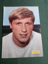 Jimmy greenoff-Leeds United Player-1 página Revista Panorama-clipping/cutting