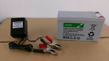 LUCAS 12V 7AH Battery + BATTERY CHARGER