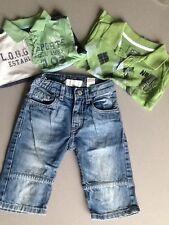 Lot H&M 2-3 ans 2 polos et 1 bermuda en jean