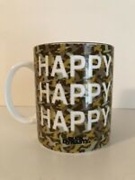 Duck Dynasty Coffee Cup Mug A&E Happy Happy Happy Camouflaged Duck Deer Hunting