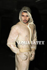 Cranium Full Sweatsuit Rubber Latex Catsuit Skin Color Latex Body Suit