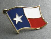 TEXAS USA STATE FLAG SINGLE LAPEL PIN BADGE 7/8 INCH