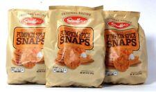 3 Bags Stauffer's 14 Oz Original Recipe Pumpkin Spice Snaps Cookies BB 4-17-22