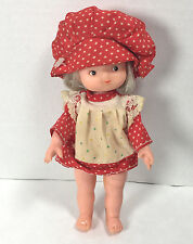 Vintage Strawberry Shortcake Doll Made in Hong Kong