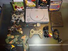 Sony PlayStation Konsole PS1 Spielekonsole + Controller + Spiele