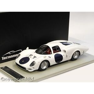 FERRARI 365 P2 WHITE ELEPHANT PRESS VERSION LE MANS 66 TECNOMODEL 1/18 #TM18-17A