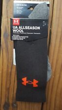Under Armour Allseason Wool Mens Boot Socks Size Large