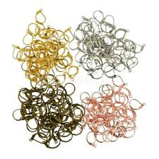 200pcs Mixed Color Earring Hooks Leverback Earwires Findings Components