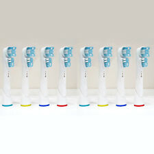 8 TESTINE COMPATIBILI CON SPAZZOLINI ELETTRICI ORAL B ORALB DUAL CLEAN TESTINA