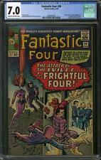Fantastic Four #36 CGC 7.0 (C-OW) 1st Frightful Four 1st Medusa