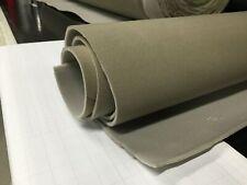 Deep Beige Auto Headliner Fabric Foam Rod Reupholstery Inner Lining 1.51M x 1.2M